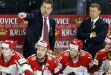 Vėl pralaimėjusi Baltarusijos ledo ritulio rinktinė rizikuoja iškristi į IA divizioną