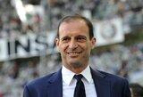 """Oficialu: """"Juventus"""", """"Monaco"""" ir """"Lazio"""" klubai pratęsė sutartis su savo treneriais"""