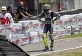 "V.Rossi: ""Avarija pirmame posūkyje - lenktyninis incidentas"""