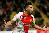 """R.Falcao atvedė """"Monaco"""" į pirmą Prancūzijos lygos taurės finalą nuo 2003 metų"""