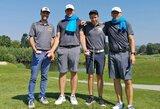 """Kroatijoje vykusiame """"European Team Shield Championship"""" golfo čempionate Lietuvos vyrų rinktinė – šešta, moterys - aštuntos"""