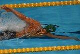 Neįprasto formato plaukimo varžybose Edinburge M.Sadauskas užėmė 5-ą vietą