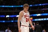 """""""Bulls"""" talentas po A.Karnišovo atvykimo persigalvojo: """"Noriu likti Čikagoje"""""""