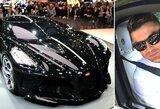 Naujas C.Ronaldo žaisliukas: už vieną brangiausių pasaulyje automobilių sumokėjo 11 mln. eurų