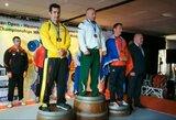 D.Jevdokimovas – Europos štangos spaudimo čempionas