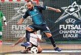 """Geriausias planetos futbolininkas Ricardinho: """"Vytis"""" vertas vietos Elitiniame Čempionų lygos etape"""""""