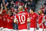 """""""Borussia"""" ir """"RB Leipzig"""" neatlaiko """"Bayern"""" pasiūlyto tempo"""
