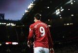 """Z.Ibrahimovičius ir """"Manchester United"""" sulaukė puikių naujienų: gauta informacija apie švedo sveikatos būklę"""