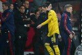 """Naujasis """"Arsenal"""" strategas M.Arteta džiaugėsi surengtu M.Ozilo pasirodymu ir požiūriu"""