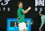 """Visų laikų rekordą pagerinti galintis N.Djokovičius – """"Australian Open"""" pusfinalyje"""