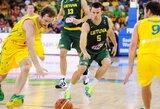 Į Lietuvos ir Australijos rinktinių rungtynes bilietų jau beveik nebeliko