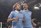 """""""Lazio"""" rungtynių pabaigoje sušaudė J.Harto vartus"""