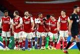 """Europos lyga: """"Arsenal"""" sutriuškino Airijos čempionus"""