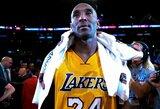 """V.Bryant: """"Šlovės muziejus yra didžiausias Kobe karjeros pasiekimas"""""""