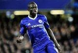 """Naują kontraktą pasirašęs N.Kante tapo geriausiai apmokamu """"Chelsea"""" klubo žaidėju"""