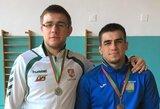 Europos imtynių čempionate L.Krasauskas suklupo pirmoje kovoje
