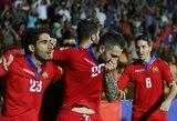 Tautų lygos D divizione – armėnų ir gruzinų pergalės