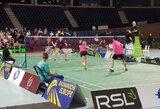 D.Beržanskis ir J.Petkus didžiausiame tarptautiniame jaunimo badmintono turnyre Lietuvoje pasiekė finalą