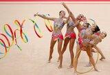 Meninės gimnastikos komandinėse varžybose nugalėjo Rusijos rinktinė