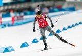 N.Kočergina pasaulio biatlono taurėje pateko į persekiojimo lenktynes