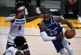 """99-ą karjeroje trigubą dublį atlikęs L.Jamesas padovanojo """"Lakers"""" trečią pergalę iš eilės"""