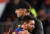 """J.Kloppas pasakė, kodėl """"Liverpool"""" net negalvoja apie L.Messį bei atskleidė, kodėl norėtų jį išvysti """"Man City"""" gretose"""