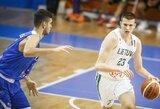 Pro šalį iš toli šaudę šešiolikmečiai Europos čempionato aštuntfinalyje nusileido graikams