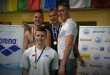 Karjeros rekordas atvėrė R.Juozelskiui duris į Europos jaunimo plaukimo čempionato pusfinalį