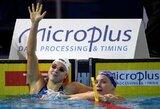 Pagrindinei R.Meilutytės konkurentei Europos čempionatas baigėsi diskvalifikacija