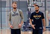 """D.Sabonis turėjo pirmąją treniruotę ir """"Pacers"""" laukia lietuvio: """"Mums labai jo reikia"""""""