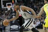 """K.Leonardas nori palikti """"Spurs"""" komandą"""