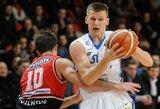 """A.Butkevičius: """"Žaisti Eurolygoje man būtų tiesiog fantastika"""""""