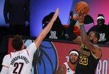 """""""Lakers"""" sutriuškino """"Trail Blazers"""", rungtynių nebaigė A.Davisas ir D.Lillardas"""