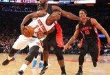 """""""Knicks"""" žaidėjas buvo peršautas ir apiplėštas"""