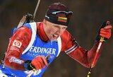 Europos biatlono čempionate – puikus K.Dombrovskio startas
