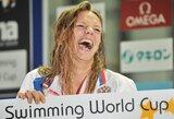Pagrindinė R.Meilutytės konkurentė rusė J.Jefimova iškovojo antrą Europos plaukimo čempionato medalį ir pagerino pasaulio rekordą