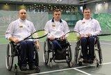 Masalas į tarptautinį neįgaliųjų teniso turnyrą – taškai, pinigai ir idealios sąlygos