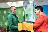 Lietuvos vėliavnešio pareigos pridėjo pasitikėjimo savimi