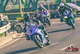 Šeštadienio miesto motociklų lenktynės – šou, prevencija skaudiems įvykiams gatvėse ir investicija į ateitį