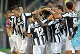"""""""Juventus"""" klubas su """"Parma"""" vargo tik kėlinį"""