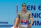 R.Juozelskį nuo pasaulio jaunimo plaukimo čempionato finalo skyrė tik viena vieta