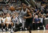 """""""Clippers"""" rengia pasiūlymą """"Spurs"""" komandai už K.Leonardą"""