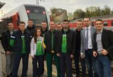 Lietuvos muaythai rinktinė išvyko į pasaulio čempionatą Minske