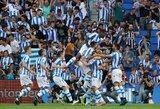 """""""Atletico"""" patyrė pirmą pralaimėjimą Ispanijos pirmenybėse"""