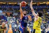 """Užtikrintai namų tvirtovę apgynęs """"Anadolu Efes"""" klubas atsidūrė per žingsnį nuo čempiono titulo"""
