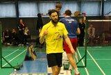 Komandiniame Europos vyrų badmintono čempionate Lietuvos rinktinė neprilygo čekams