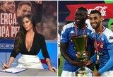 """Neakivaizdinę """"dvikovą"""" laimėjusi sporto žurnalistė įkvėpė """"Napoli"""" pergalei Italijos taurės finale"""