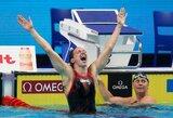Įspūdingas finišas Berlyne: du pasaulio plaukimo rekordai ir trys vengrės aukso medaliai per dieną