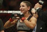 """T.Torres po pergalės """"UFC 218"""" turnyre užsigeidė revanšo prieš R.Namajunas"""