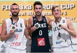 Rezultatyviausias Europos čempionato žaidėjas M.Užupis išrinktas į simbolinę komandą